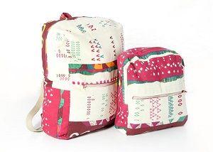 Schnittmuster für einen Kinder und Erwachsenen Rucksack, Rucksack gross und klein nähen