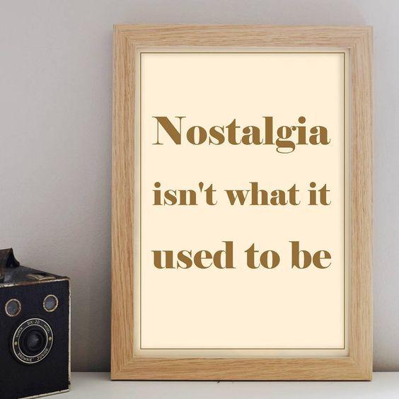 Nostalgia Print – Little Pieces