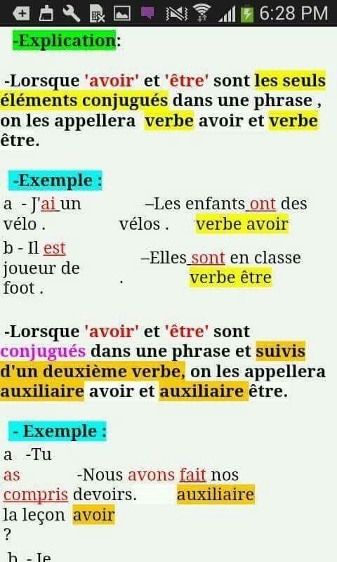 Epingle Par Ahlam Sur Francais Verbes Francais Verbe Etre Carte Mentale