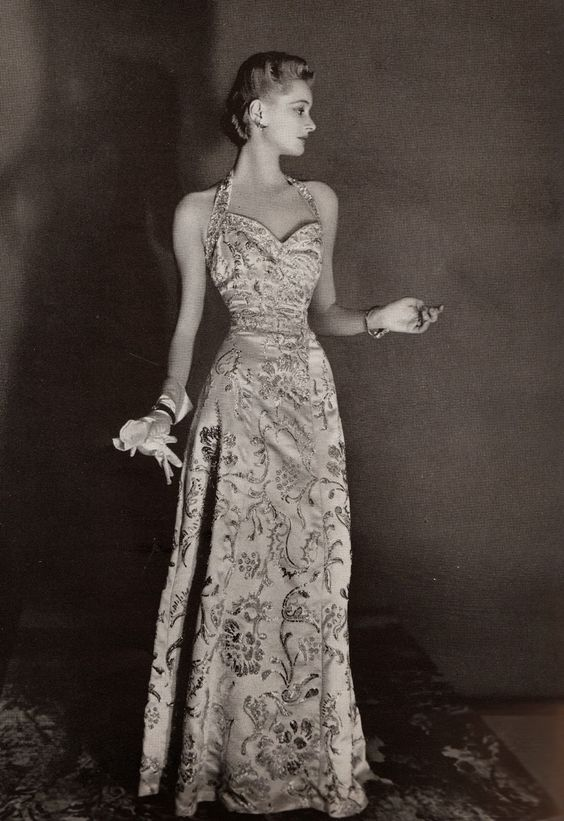 Harper&39s Bazaar 1939 Evening Gowns  1930&39s fashion in photograps ...