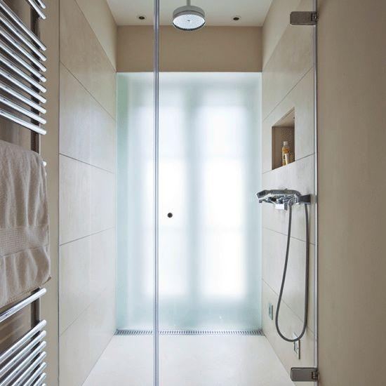 Ensuite Bathroom Ideas Uk loft quick dry bath &   entrance, window panes and decorating ideas