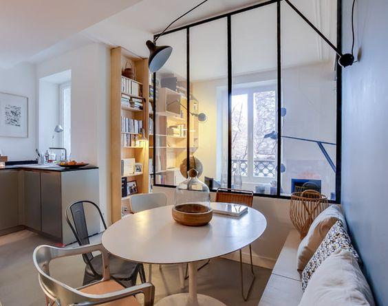 industriel coins and fen tres en acier on pinterest. Black Bedroom Furniture Sets. Home Design Ideas