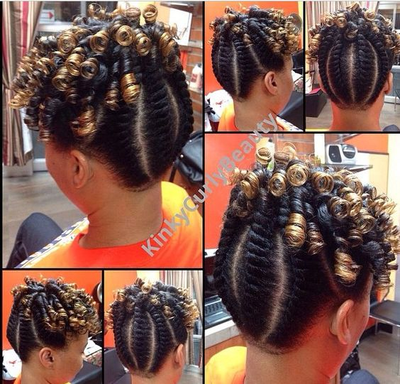 Pictures Of Spiral Curls Updo Hairstyles 64