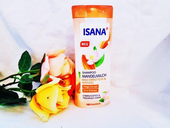 Isana Shampoo Mandelmilch
