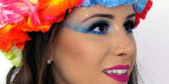 Tutorial: Maquiagem para o Carnaval! | Vanessa Galizzi