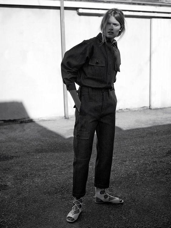 visual optimism; fashion editorials, shows, campaigns & more!: blues: constance jablonski by annemarieke van drimmelen for wsj february 2015