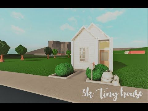 Bloxburg 3k Tiny House Youtube In 2020 Cozy House House