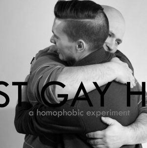 ¿Qué pasa si juntas a un gay y a un homofóbico y les pides que se abracen?