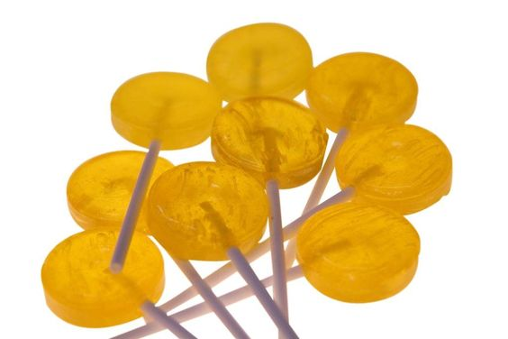 The Professors Tasty Technology - Single Colour Lollipops - Yellow - Tutti-Frutti Flavour (40pc Bag), $2.95 (http://www.theprofessors.com.au/products/single-colour-lollipops-yellow-tutti-frutti-flavour-40pc-bag.html)