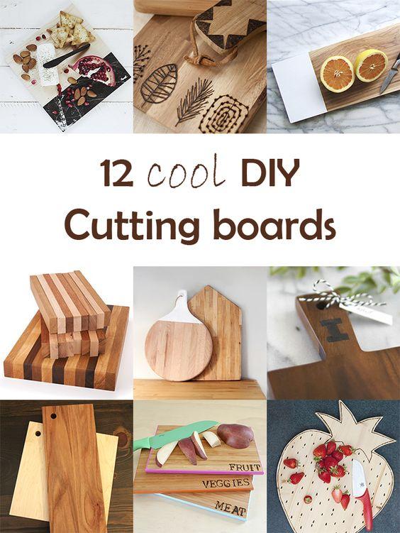 Ohoh Blog - diy and crafts: DIY Monday # Cutting boards