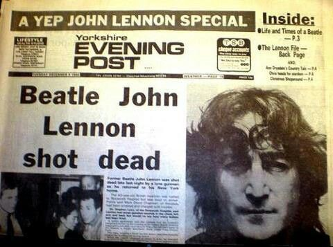 Death of John Lennon