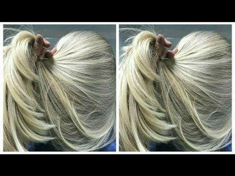 ميلونج بطريقة احترافية مثل الصورة تماما Youtube Hair Styles Long Hair Styles Beauty