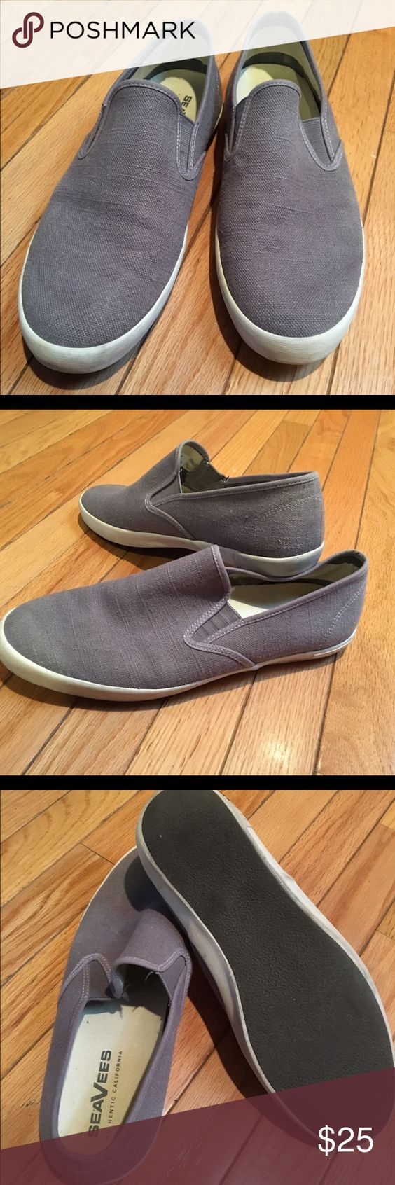 SeaVees Authentic California man shoes Worn, but still in good condition, SeaVees man slip ons grey shoes, size 10 SeaVees Shoes Loafers & Slip-Ons