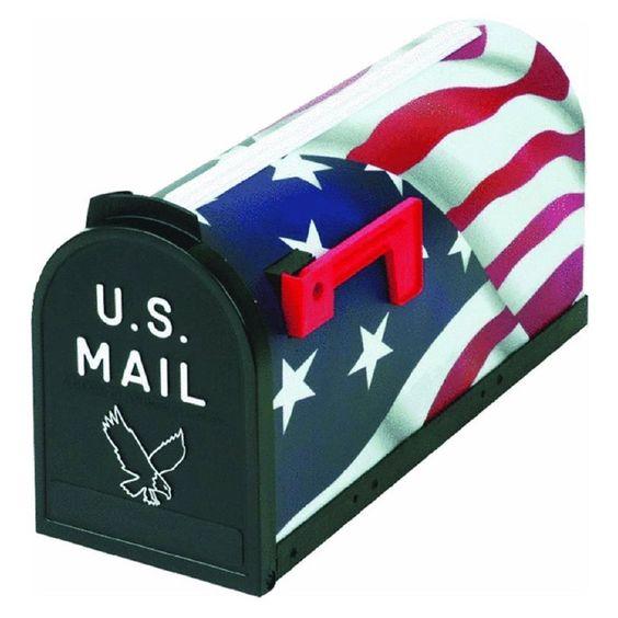 Flambeau, Scenic U.S. American Flag, Mailbox