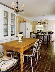 Resultado de imagem para cozinhas romanticas