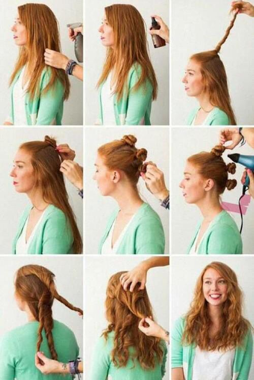 Great Idea for wet hair