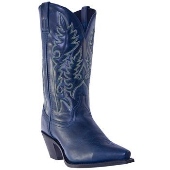 Laredo Women's Madison Western Boots in Navy $110 | kicks ...