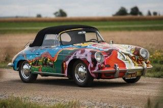 Janis Joplin's Psychedelic Porsche 356 SC Is One-Of-A-Kind | Highsnobiety