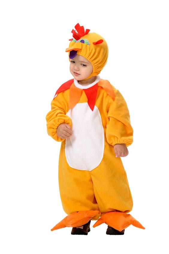 Disfraz de #pollo para los más peques