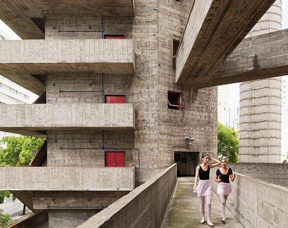 SESC Pompeia / Lina Bo Bardi: Lina Bo Bardi, Arch Linabobardi, Google Search, Architecture Ideas, Architecture Design, Architecture Urban Design