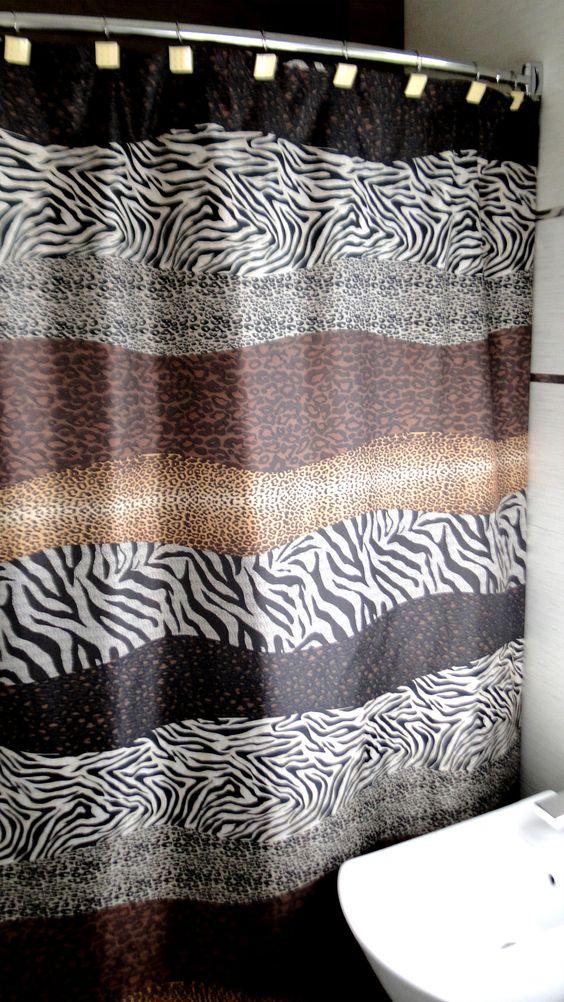 modelo points cortina de bao estampada de tefln medida 180 x 180 cortinas de bao para tu ducha pinterest logs