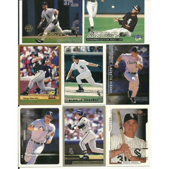 HUGE 65 + Different MAGGLIO ORDONEZ cards lot 1998 - 2008 White Sox Tigers RC Listing in the 2000-2010,Sets,MLB,Baseball,Sports Cards,Sport Memorabilia & Cards Category on eBid United States | 147952723