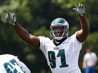 First-round draft pick Fletcher Cox and fellow Eagles rookies report to Lehigh on Sunday. (David Maialetti/Staff Photographer)