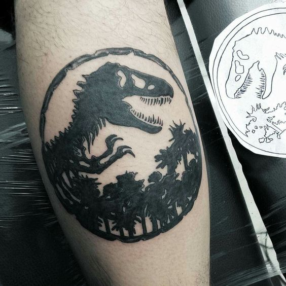 Great Jurassic Park tattoo. I love it ♥: