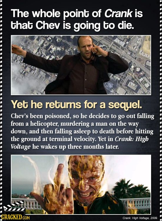 21 Sequels That Clearly Didn't See The Original Movie | Cracked.com