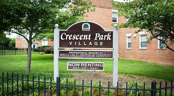 Welcome to Crescent Park Village in Southeast Washington DC | WC Smith #Apartments | Anacostia #Rentals