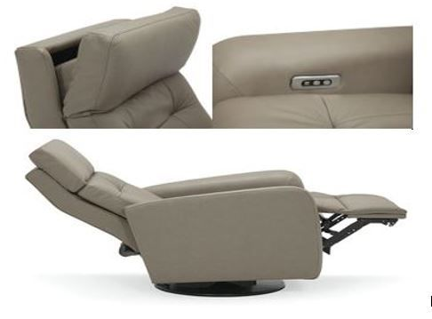 Swell Power Headrest Power Footrest Lay Flat Swivel Rocker Theyellowbook Wood Chair Design Ideas Theyellowbookinfo