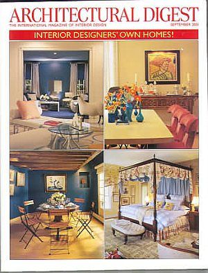 Architectural Digest September 2001