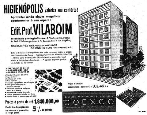 Ed. Prof. Vilaboim, apartamentos de 2 dormitórios com armários embutidos