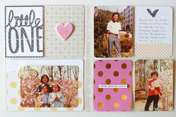 PHOTO + PAPER + STAMP = CRAFTTIME!!!: Family Portraits Album (MAY) , Spring ,photos and picnic