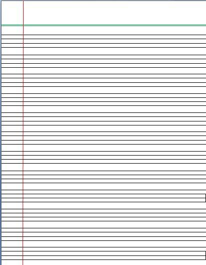 Doc590429 Writing Lines Template Free Printable Writing – Writing Lines Template