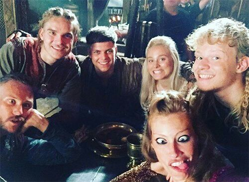 Cast vikings  | Vikings ♥️ | Vikings show, Vikings