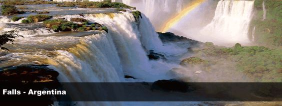 Iguazu Falls, Argentina  One of the best vacations in my life!