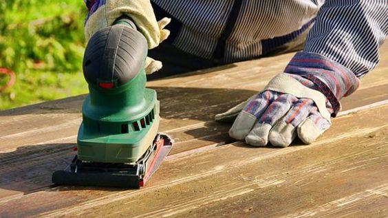Mit einer Schleifmaschine geht das Schleifen einfacher von der Hand (Quelle: Thinkstock by Getty-Images)