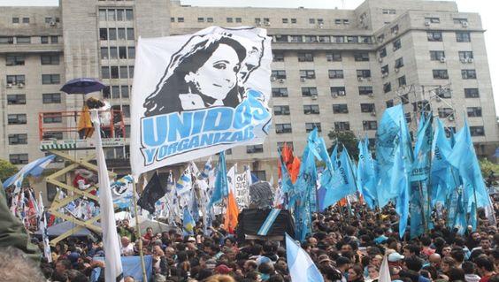 """""""Yo quiero que la gente vuelva a sentir amor, la represión solo trae dolor"""", dijo Kirchner."""