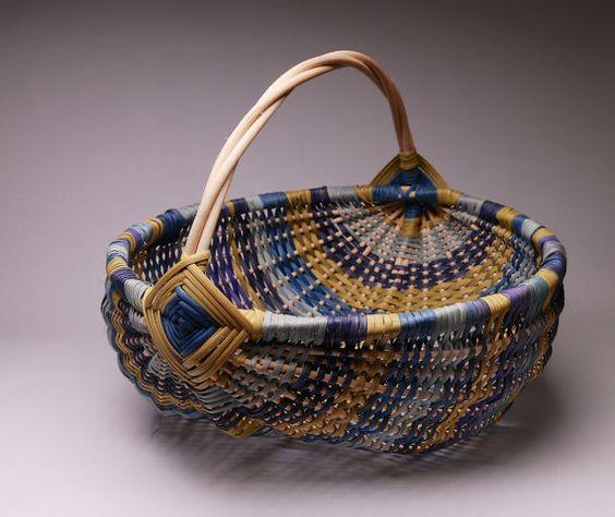 Medium melon basket by MagrataBaskets on Etsy