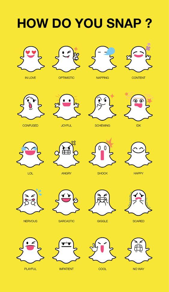 Snapchat black ghost