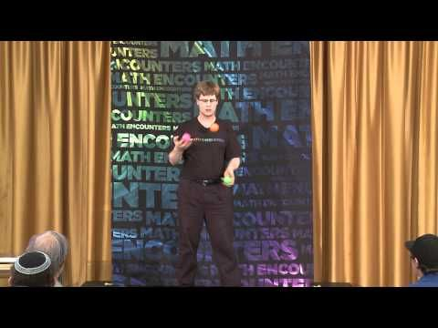 Math Encounters -- Five Balls, Two Hands: The Patterns of Juggling -- Colin Wright (Presentation) - YouTube