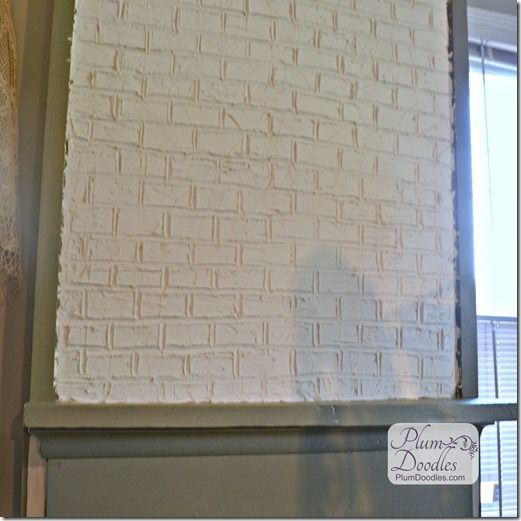 Faux Brick Drywall Mud And Drywall On Pinterest