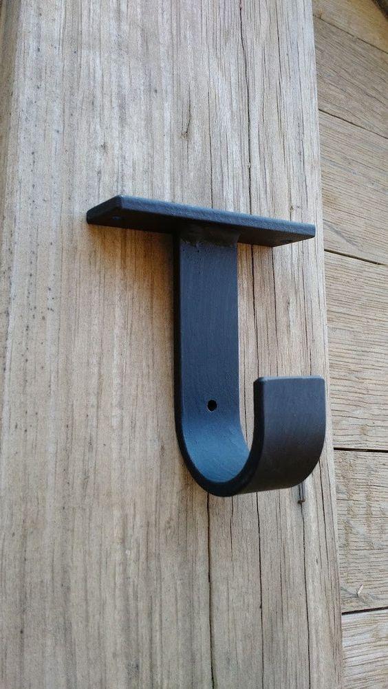 Ceiling Brackets For Round Rod 1 Ea Custom Bracket Any