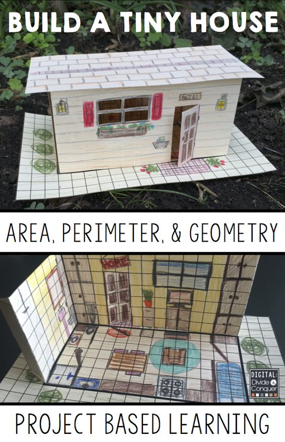Let students learn how math concepts are connected to the real world as they design their own 3D TINY HOUSE!  Area, perimeter, and geometry-- math is everywhere in this project based learning activity (PBL). Designing, creating, and problem solving are key features of this resource. Build a Tiny House! $: