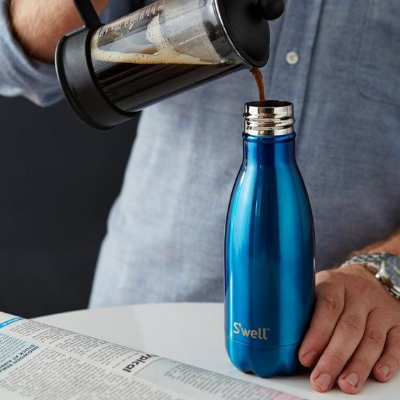 S'WELL マイボトルを持ち歩こう これ1本で、年間3000本のペットボトルに相当