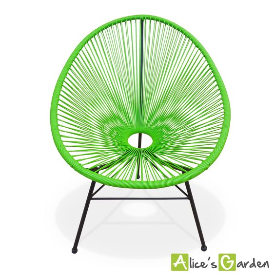 Acapulco vert http://www.alicesgarden.fr/mobilier-jardin/chaise/huevo-fauteuil-oeuf?selected=708