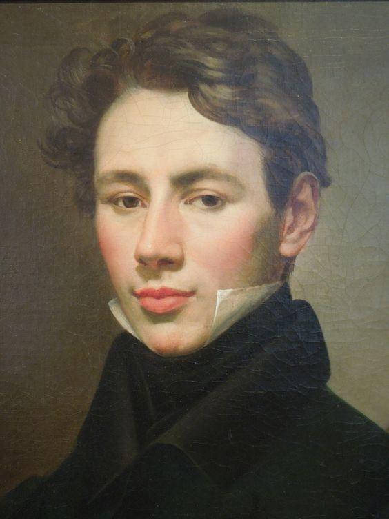 """Antonín Machek: """"Portrait of Ludvík Ritter von Rittersberg"""",1827, oil on canvas, current location: National Gallery in Prague."""