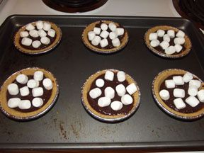 S'mores Pie (Low Calorie) » Dealin and Dishin