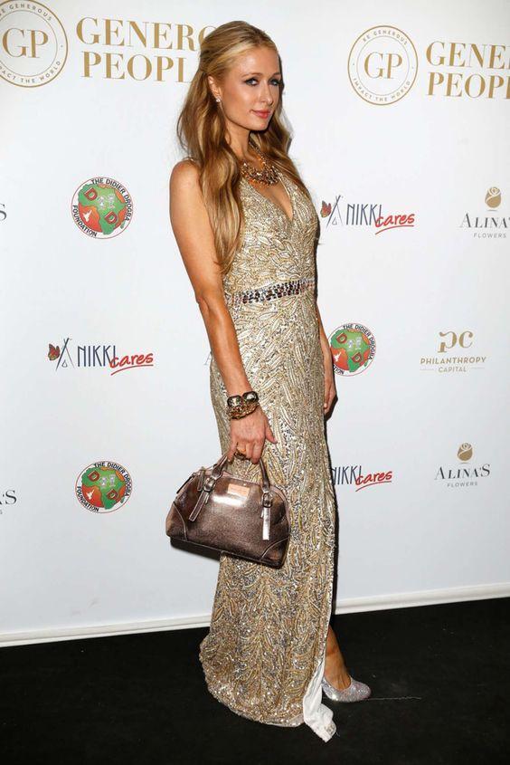 Paris Hilton – 2015 Cannes – The Heart Fund party